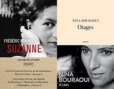 Couvertures - Suzanne et Otages